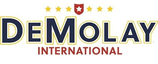 logo graphic for DeMolay