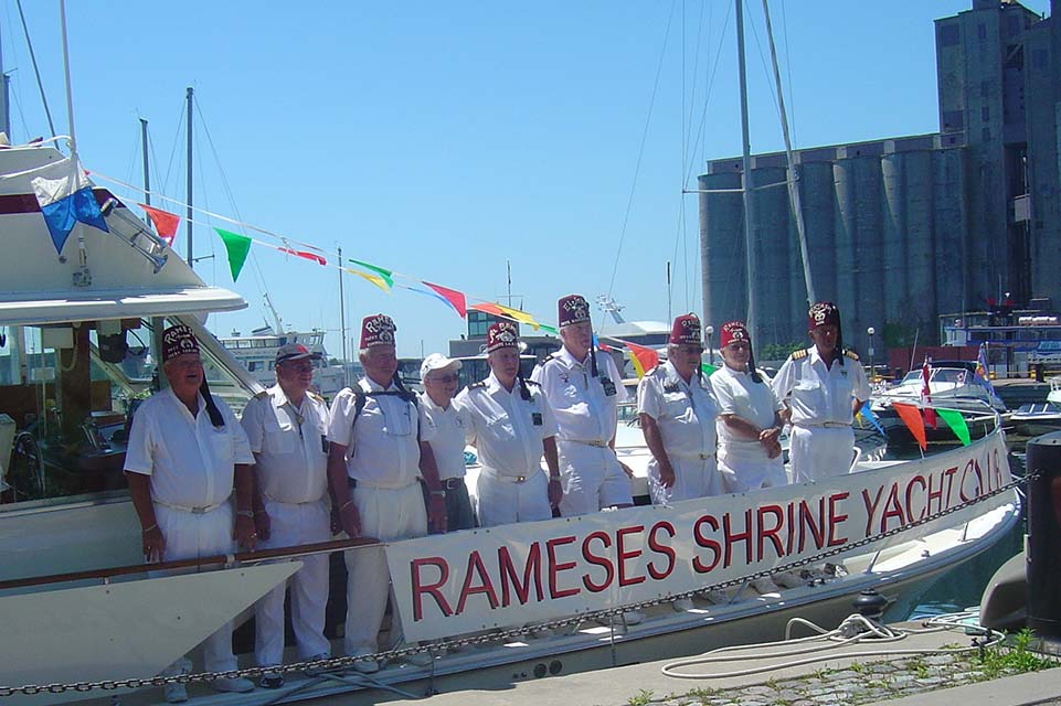 yacht crew on vessel